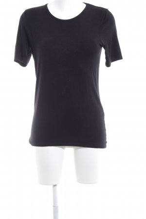 Bruno Manetti T-Shirt schwarz Casual-Look
