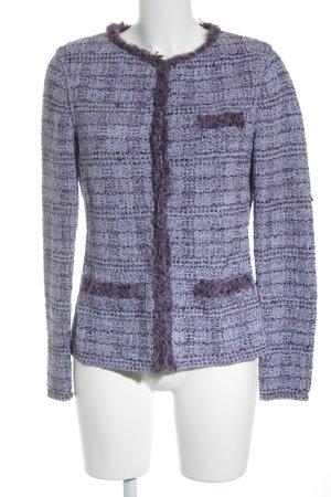 Bruno Manetti Tweedblazer meliert extravaganter Stil