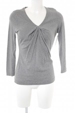 Bruno Manetti Wollpullover grau Casual-Look