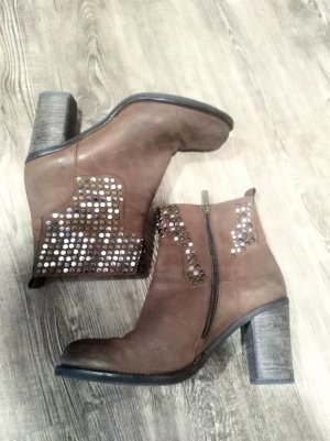 Bruno Premi Ankle Boots brown-light brown leather