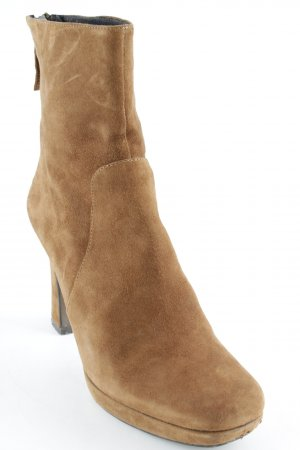 Bruno Premi Booties cognac Street-Fashion-Look