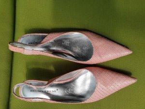 Bruno Premi Leder rosa Pumps