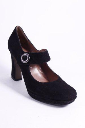 Bruno Premi Mary Jane Pumps schwarz klassischer Stil