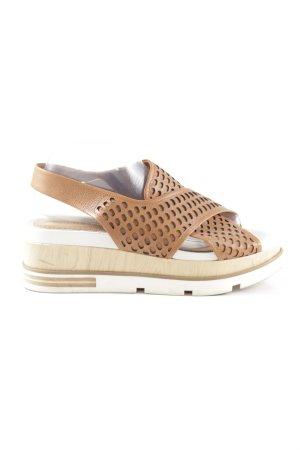 Bruno Premi Platform Sandals natural white casual look