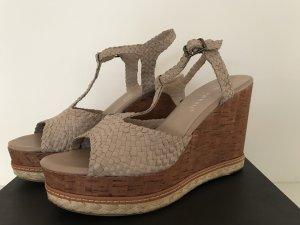 Bruno Premi Plateauzool sandalen grijs-bruin