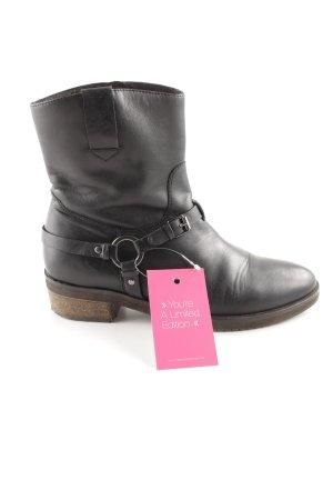 Bruno Premi Reißverschluss-Stiefeletten schwarz Vintage-Look