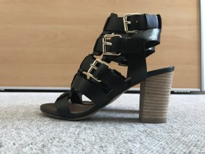 Bruno Premi Strapped High-Heeled Sandals black