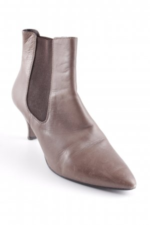 Bruno Premi Slip-on Booties grey brown simple style