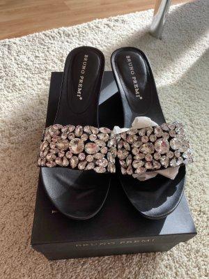 Bruno Premi Heel Pantolettes black