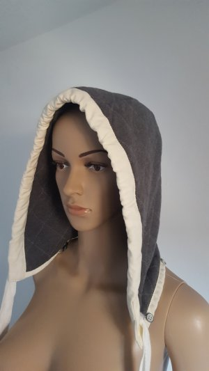 Brunotti Cappello in tessuto bianco-grigio