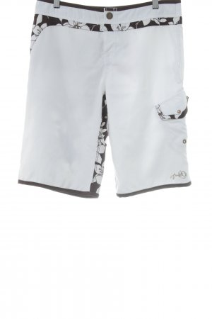 Brunotti Shorts flower pattern beach look