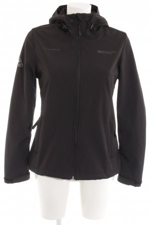 Brunotti Softshelljacke schwarz Casual-Look
