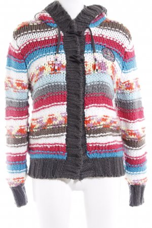 Brunotti Knitted Vest striped pattern fluffy
