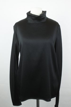 Bruuns Bazaar Bluse Seidenbluse Gr. 38 schwarz NEU