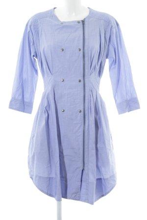 Bruuns bazaar Blusenkleid blassblau Business-Look