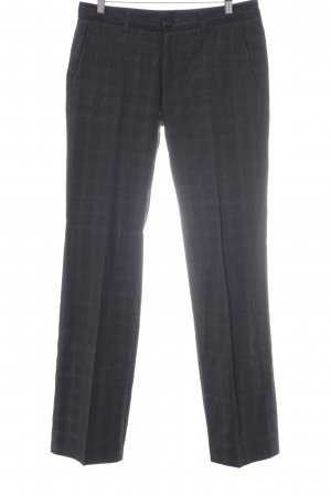 Bruuns bazaar Pleated Trousers black-white flecked business style