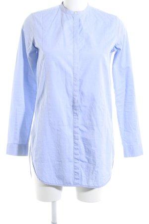 Bruuns bazaar Hemd-Bluse blassblau Business-Look
