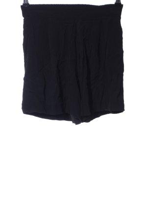 Bruuns bazaar High-Waist-Shorts schwarz Casual-Look