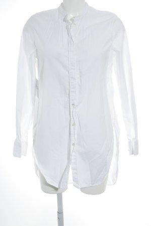Bruuns bazaar Shirt met lange mouwen wit minimalistische stijl