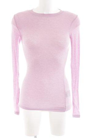 Bruuns bazaar Longsleeve pink Casual-Look