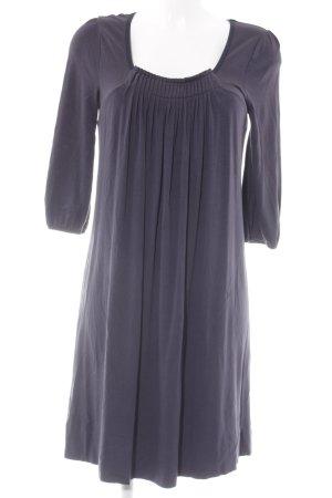 Bruuns bazaar Stretchkleid dunkelblau schlichter Stil