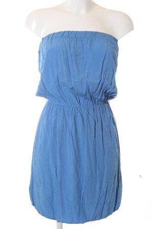 BSB Collection Bandeaukleid blau Casual-Look
