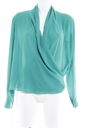BSB Collection Transparenz-Bluse kadettblau schlichter Stil