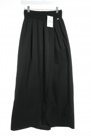 BSB Jeans Maxi Skirt black classic style