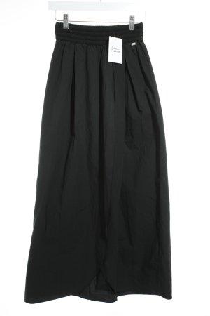BSB Jeans Maxirock schwarz klassischer Stil