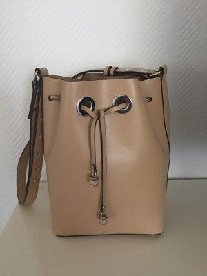 Bucket Bag in  Beige