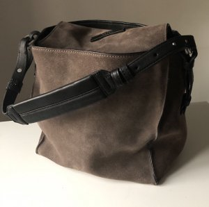 bucket bag Marc O'Polo braun grau