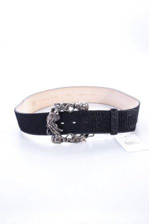 Buckles & Belts Gürtel schwarz Fell-Optik