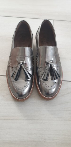 Pertini Pantoffels zilver