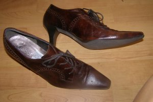 Gabor Wingtip Shoes multicolored leather