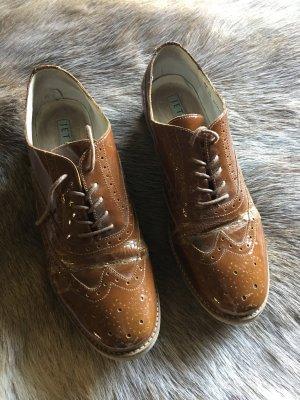 Jette Joop Wingtip Shoes brown
