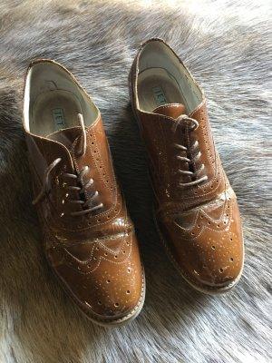 Jette Joop Wingtip Shoes brown