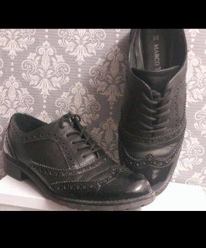 Marco Tozzi Lace Shoes black