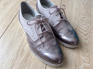 s.Oliver Lace Shoes rose-gold-coloured-white