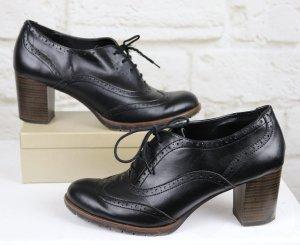 Graceland Lace-up Pumps black imitation leather