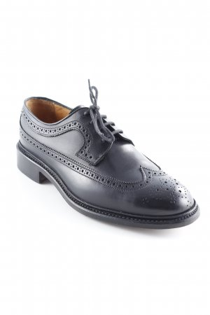 Wingtip Shoes black business style