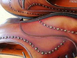 Zapatos Budapest coñac