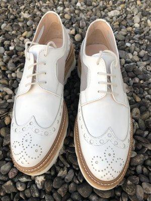 Pertini Budapest schoenen wit-zilver