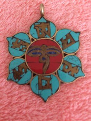 Pendant multicolored
