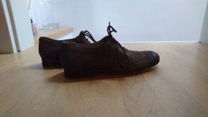 Buffalo Budapest schoenen donkerbruin