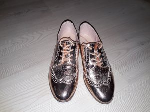 Low Shoes rose-gold-coloured