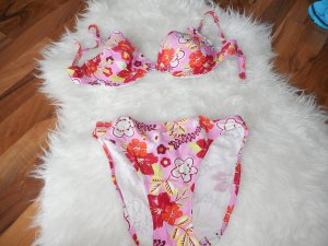 Bügel Bikini mit Blumenmuster