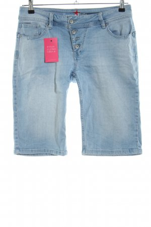 Buena Vista Bermudas blue casual look