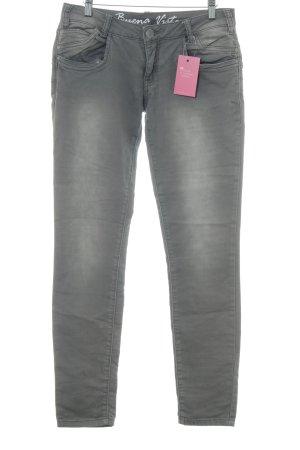 Buena Vista Bikerjeans hellbraun-blasslila Jeans-Optik
