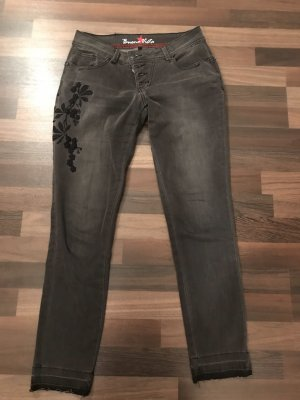 Buena Vista Tube Jeans black-grey