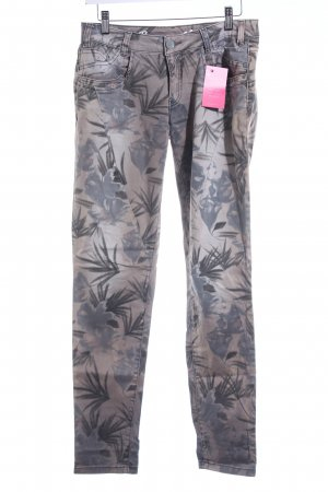 Buena Vista Boot Cut Jeans florales Muster Urban-Look
